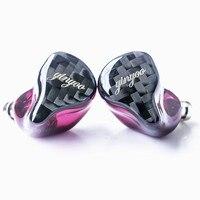 Tüketici Elektroniği'ten Kulaklıklar'de Yinyoo HQ8 8BA kulak kulaklık Custom Made dengeli armatür kulak kulaklık kulaklık kulakiçi ile MMCX yükseltme kablosu