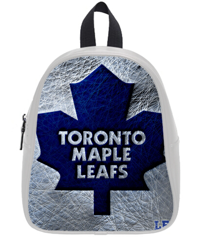 timeless design 7d626 0d323 Custom Toronto Maple Leafs Printing Backpack Children ...