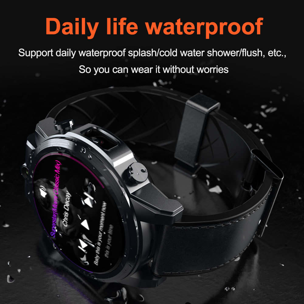 Image 4 - LOKMAT 4G Smart watch men Android 7.1 MTK6739 3GB+32GB AMOLED Screen 610mAh Battery GPS Smartwatch for iosSmart Watches   -