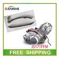 JIANSHE tiempo guía de cadena de distribución del motor junta atv250 LONCIN 250CC atv quad accesorios envío gratis