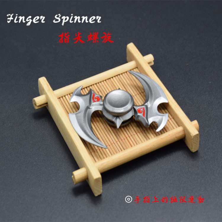 Finger Fingertips ,Metal Gyro, Adult Recreational Stress Toy, The Ninja Rotates Darts,Classic Toys,Spinning Top,hand Spinner