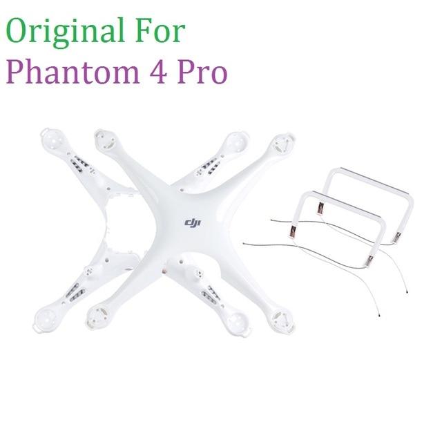 100% のオリジナルのスペアパーツファントム 4 プロボディアッパーシェル中間フレーム用 DJI Phontom4 Pro の修理アクセサリー
