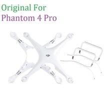 100% orijinal yedek parçalar Phantom 4 Pro için Vücut Üst Kabuk Orta Çerçeve Iniş takımı DJI Phontom4 Pro Onarım Aksesuarları