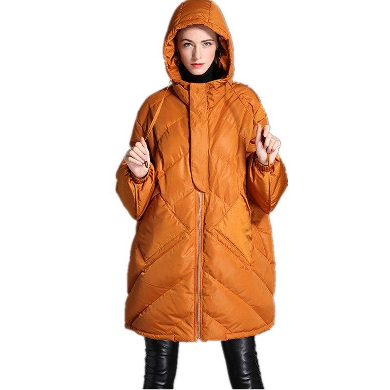 Top Chaud D'hiver Parka Vers Vestes 2018 color Bas Épais Rue Lâche Manteau Qualité 1 Femmes De 2 New High Fashion Veste Color Le be2EDHYW9I