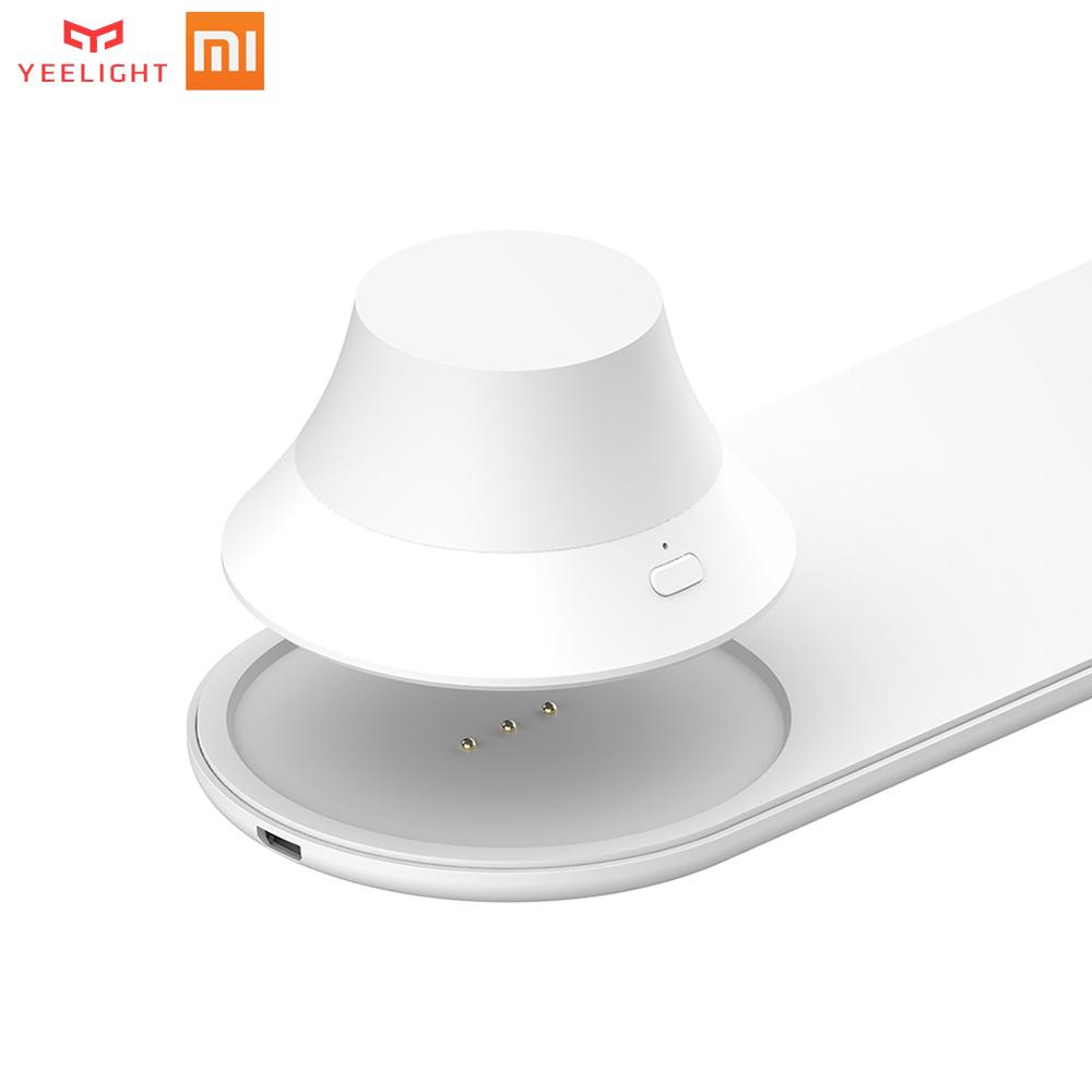 1P Xiaomi Yeelight Magnetic Attraction Fast Charging Wireless Charger with LED Night Light For iPhones Samsung Huawei Xiaomi H30