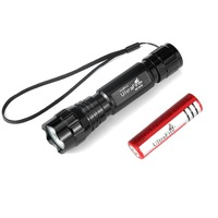 UltraFire Flashlight 5 Modes 800 Lumens Mini Portable Single Handheld Flashlight Torch Lamp linterna led zaklamp led torch Flas