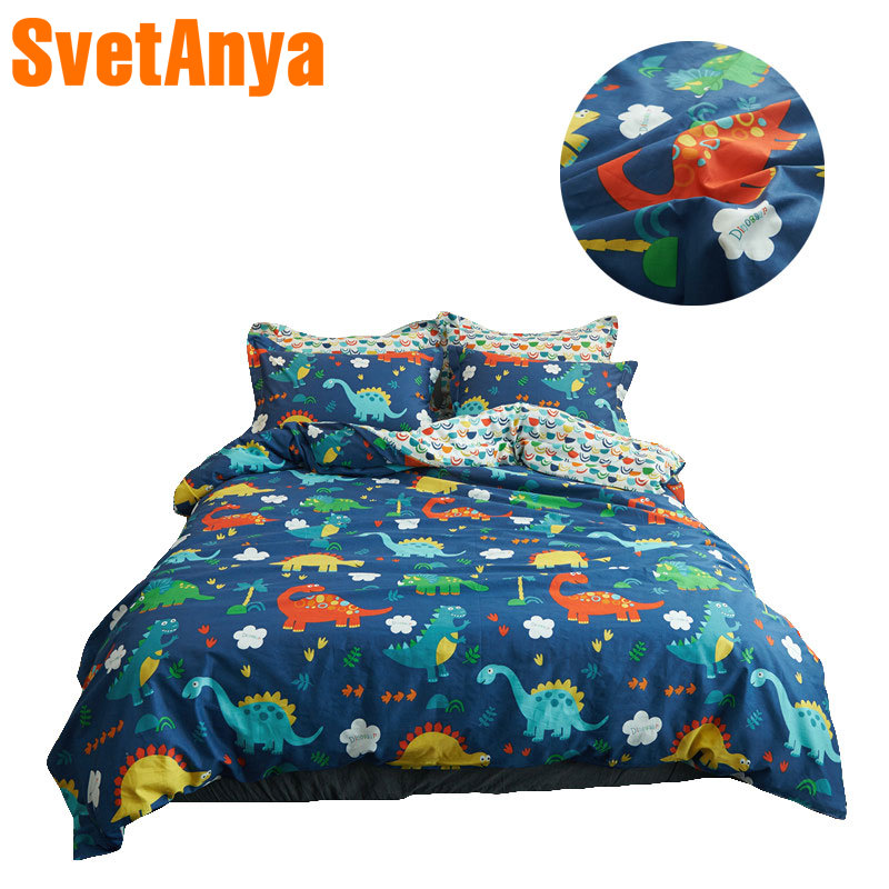 Colorful Dinosaurs Simple Bedding Sets 3/4Pc Twin Queen Size Cotton Bedlinens Duvet Cover Pillowcase Flat Sheet or Fitted Sheet Colorful Dinosaurs Simple Bedding Sets 3/4Pc Twin Queen Size Cotton Bedlinens Duvet Cover Pillowcase Flat Sheet or Fitted Sheet