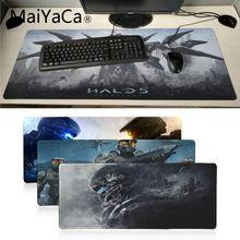 MaiYaCa Halo serisi oyun desen Mousepads için Video Oyunları Halo 5 Oyun Masa Mat Mouse Pad Pc Klavye Pad'leri