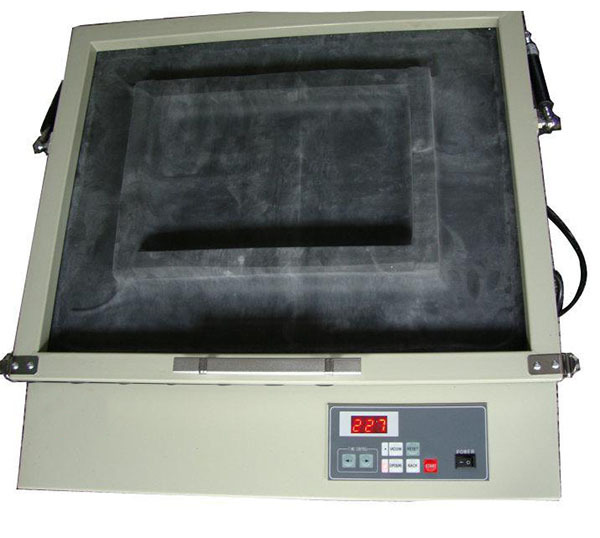silk screen frame exposure machine with vacuum wooden screen frame uv exposure machine