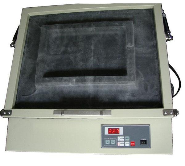 silk screen frame exposure machine with vacuum wooden screen frame uv exposure machine