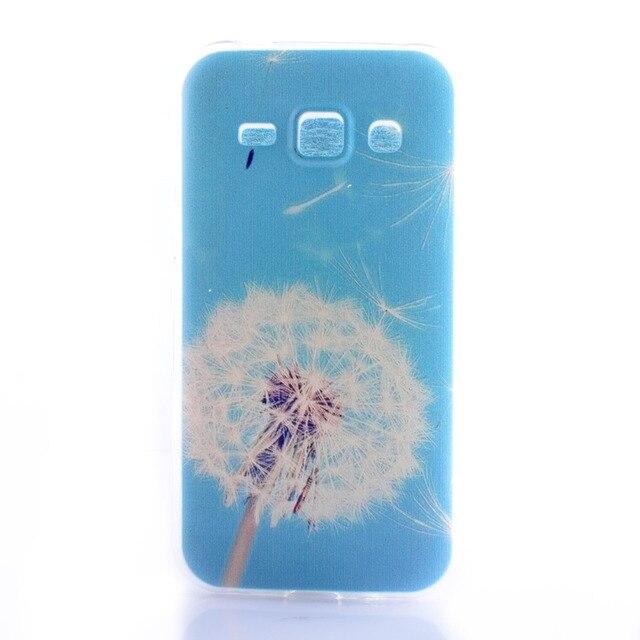 Милые силиконовые любовь шаблон для Samsung Galaxy A3000 A5000 телефон случаях ТПУ задняя крышка для Galaxy J1 J100/ J5 J500 J500F