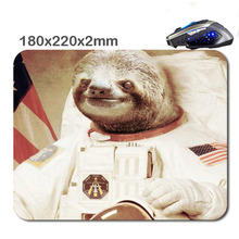 Lovely Sloths Used For Home And Office Computer And Laptop Gaming Rubber 3D Printing Mouse Pad 180X220X2cm