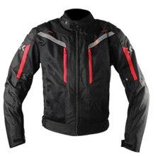 Езда племя мотогонок костюм ветрозащитный защитное снаряжение броня мотоциклетная куртка+ мотоциклетные штаны защита для бедер мото набор