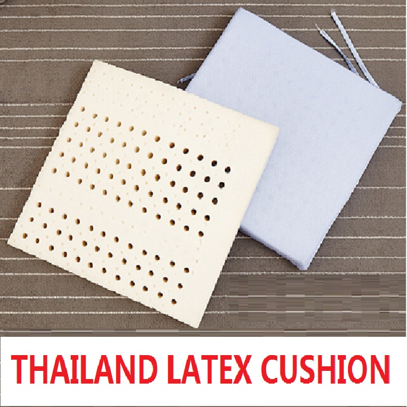 US $12 91 29% OFF|Thailand Latex Cushion for Baby Adults Memory Foam Bean  Bag Seat for Home Office Dropshipping Square Pouf school Coccyx Protect-in