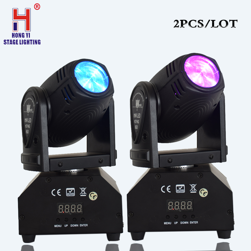 Mini 10W LED Beam Moving Head Light 4in1 Mixing Color Effect RGBW LED DMX Stage Light Equipment(2pcs/lot)Mini 10W LED Beam Moving Head Light 4in1 Mixing Color Effect RGBW LED DMX Stage Light Equipment(2pcs/lot)