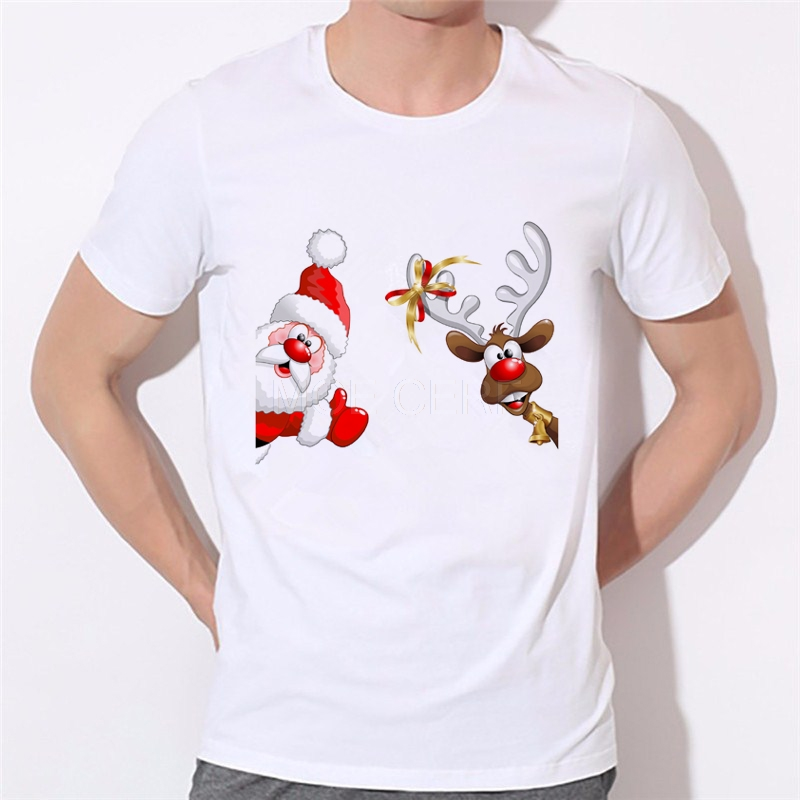 Fashion Cartoon Style Merry Christmas T-Shirt 3d Print MERRY CHRISTMAS Space t shirt tees tops Brand clothing 46-30#