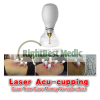 Laser Acu cupping for Slimming, POPULAR slimming machine, 3 in 1, laser acupuncture+cupping+magneto therapy