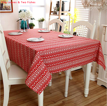 Hot Sale High Quality Tablecloth Linen Tablecloths Beautiful Party Table  Cloth Cartoon Cover Cloth Sofa Cover