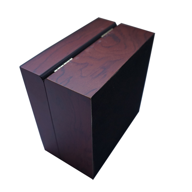 Square Wooden Boxes for EU Luxury Brand&Fashion Watches Cases Clamshell Matte Wood Boxes Customize Logo Boxes Wholesale&Factory