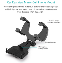 Car Rearview Mirror Mounts Mobile Phone Holders Stands For Galaxy C7 (2017) J7+/C8/Note FE/J7 PRO/J7 MAX/Note 7R/J7 (2017)/A8/A9
