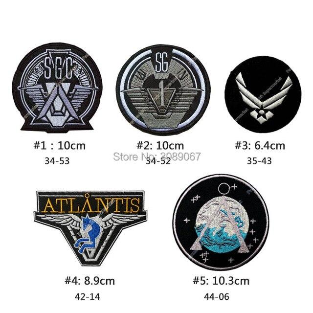 Stargate SG1 Belangrijkste Team Prop Uniform Patch Tv Series Punk Rockabilly Applique Naaien/Ijzer Op Patch Wholesale Halloween