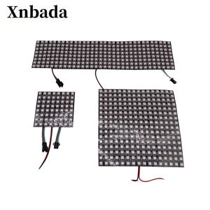 WS2812B led matrix Panel Screen 8*8,16*16,8*32 Pixels Digital Flexible Led Programmed Individually Addressable Full Color DC5V(China)