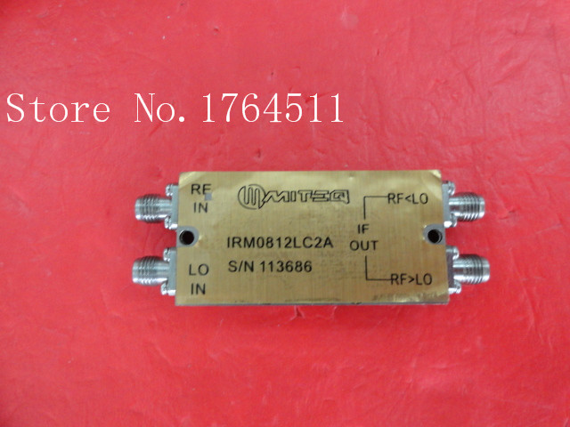 [BELLA] MITEQ 1RM0812LC2A 1-500MHz SMA Supply Amplifier