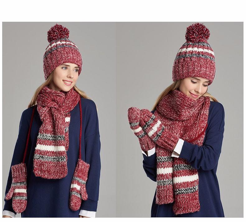 hat scarf glove set (2)