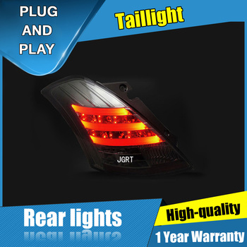 JGRT Car Styling for SUZUKI Swift  Tail  Lights 2014-2015 for  Swift LED Tail Lamp+Turn Signal+Brake+Reverse LED light