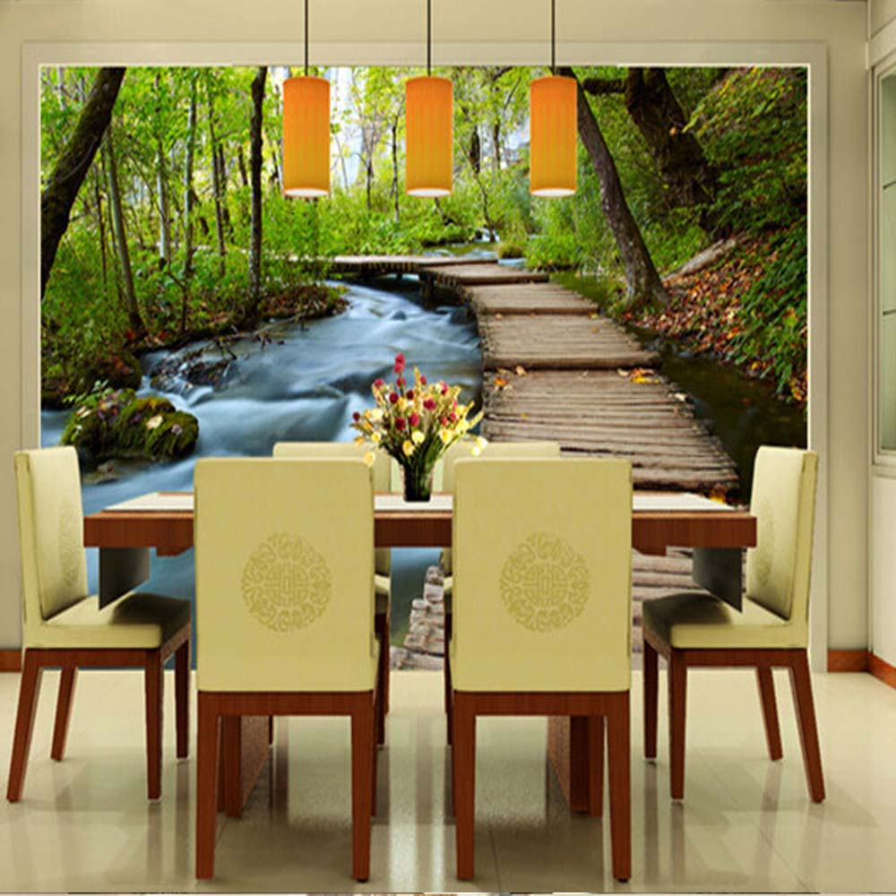 Modern Wall Mural Photo Wallpaper on the Wall Decor for Living Room ...
