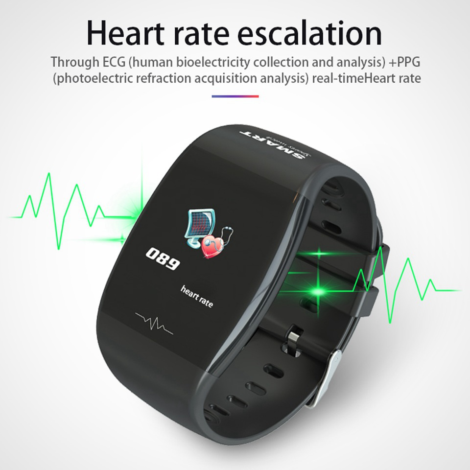 New Healthy Smart Band Blood Pressure And Heart Rate monitor IP67 Waterproof Bracelet Sports Watch Fitness Tracker For Men Women