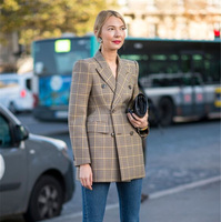 PADEGAO Women Winter Autumn Woolen Suit Jacket 2017 Grace Female Coat Fashion Clothing