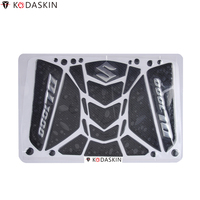 KODASKIN Tank Pad Stickers Protectors 3D Carbon Fiber Decals for Suzuki Vstrom V strom DL1000