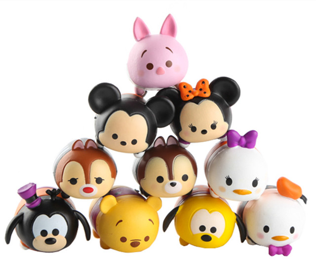 tsum tsum mini stack halloween set of 10 dasiy donald duck chip and dale piglet goofy - Goofy Halloween Pictures