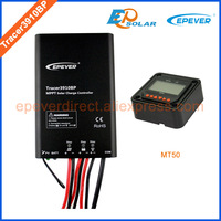 charger controller MPPT EPEVER Solar Tracking regulator Tracer3910BP 15A 15amps MT50 remote Meter Controller waterproof IP67