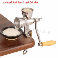 Upgraded Corn Mill Grinder Stainless Steel Grinding Machine for Peanut Soybean Walnut Coffee Bean Grinding Hot Sale