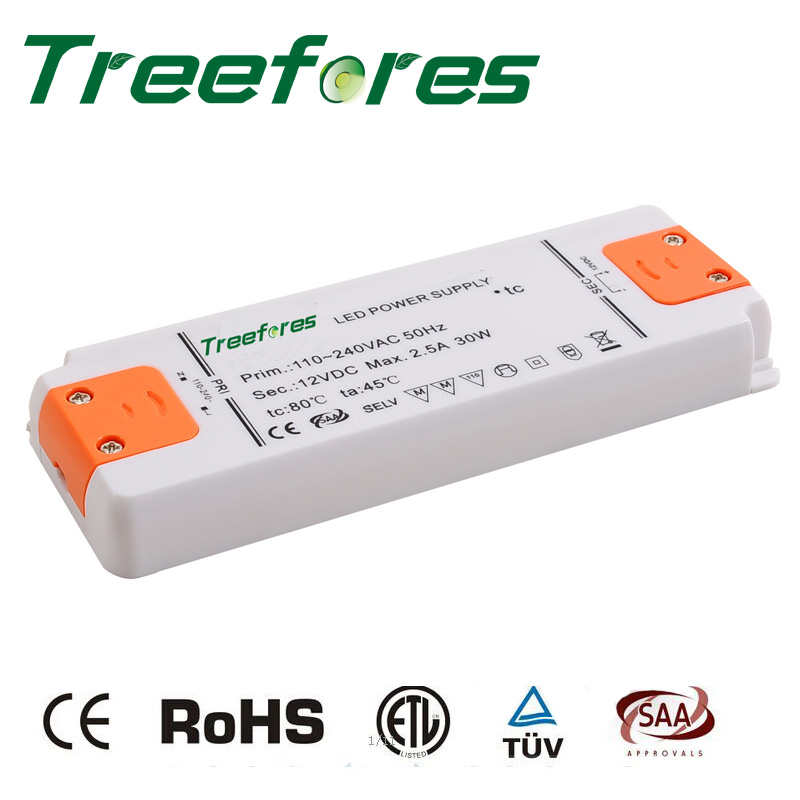 Ultrathin 6W 12W 15W 20W 30W 40W 50W 60W 220V 230V 240V to DC 12V 24V Led Transformer Power Supply LED Driver Adapter