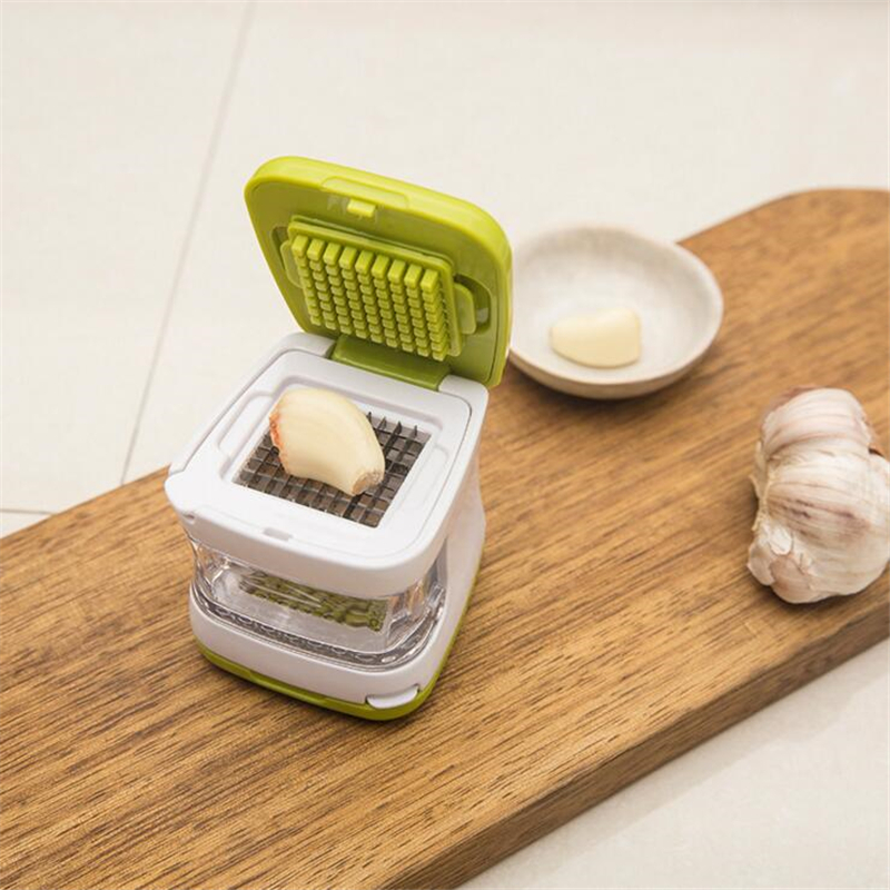 Cooking Tool Sets Garlic Press Chopper Practical Home Kitchen Accessories Slicer Hand Presser Garlic Grinder Vegetable Cutter