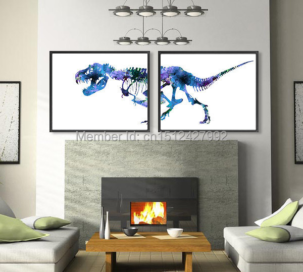 Dinosaur Wall Art compare prices on dinosaur wall art canvas- online shopping/buy
