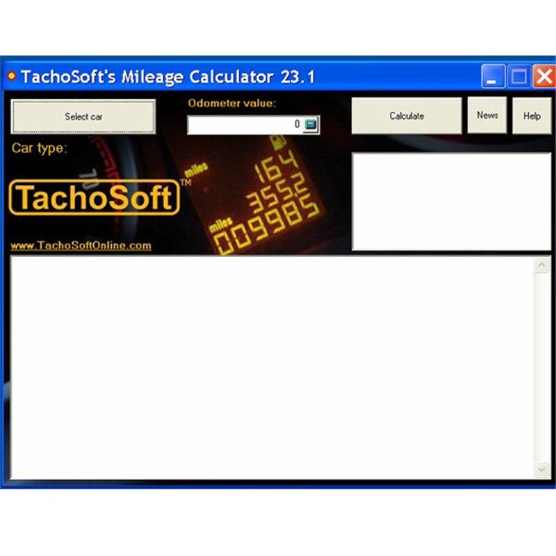 2018 tachosoft 23 1 mileage software calculator odometer mileage