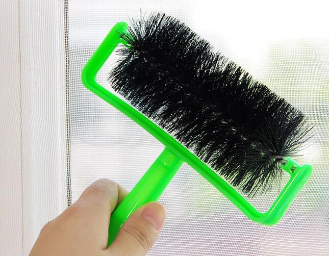 Household cleaning screen window cleaning brush roller nylon+PP