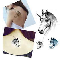 3PCS Sexy Horse Designs Waterproof Temporary Tattoo Sticker Women Men Body Art Accessories Fake Tattoos Paste Tips Makeup Tools