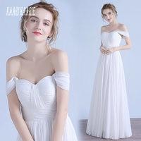 Elegant White Party Long Evening Dresses 2018 Evening Gown For Women Sweetheart Chiffon Pleat Zipper Formal Dress Custom Made