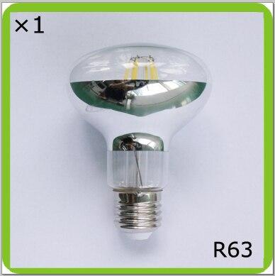 Manufacturer 120V 220V 230V 240V 6W or 8W led spot light R63 led bombilla LED luminaria E27 glass type filament led PAR BR light эра r63 e27 8w 230v желтый свет