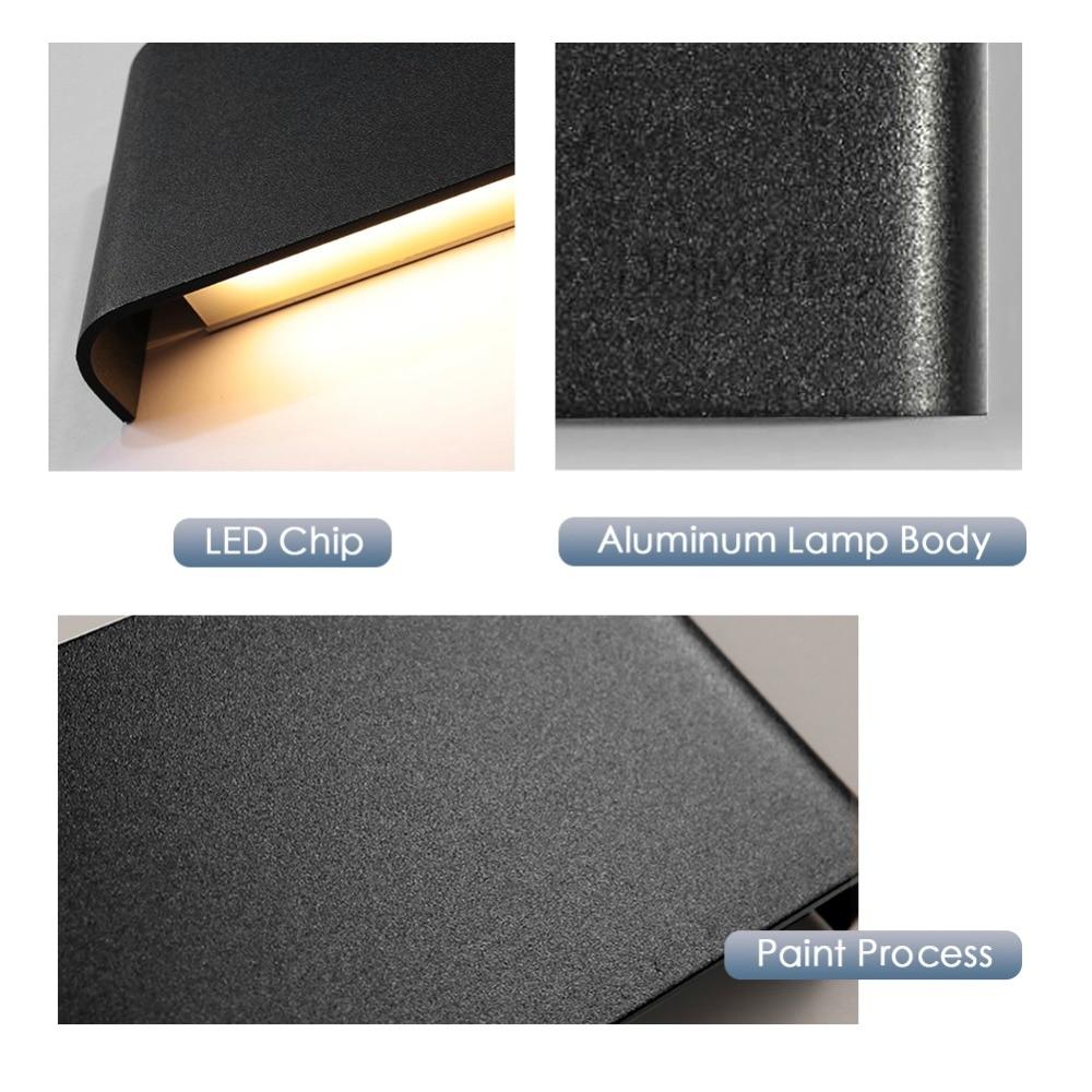 Modern LED Wall Lamp Minimalist Indoor Light Fixture Wall Sconces Stair 6W 10W Bedroom Bedside Living Room Home Hallway Lighting 5