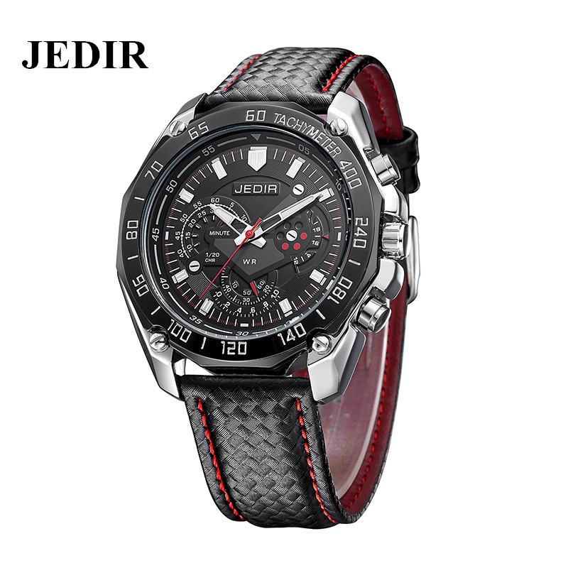 JEDIR Brand Luxury Quartz watch Military Sport Men Wristwatches Waterproof Fashion Casual Mens Watch Business Relogio