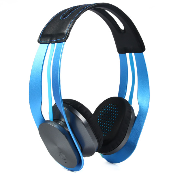 Syllable G700 Blue Wireless Stereo Bluetooth 4.0 HIFI Adjustable 3.5mm Headphone Earphone Headset For Smart Phone PC