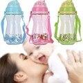 450 ml copo bebendo bebê dos desenhos animados com uma corda de palha portátil BPA bebê Livre mamadeiras Sippy copos copos de treinamento bebê infantil