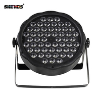 2PCS LED Par 54X3W RGB DMX Stage Lights Business Lights LED Wash Light RGB Color Mixing 54X3W