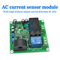 free shipping, current sensor to detect the full range of linear adjustable relay output AC 0-20A AC power supply